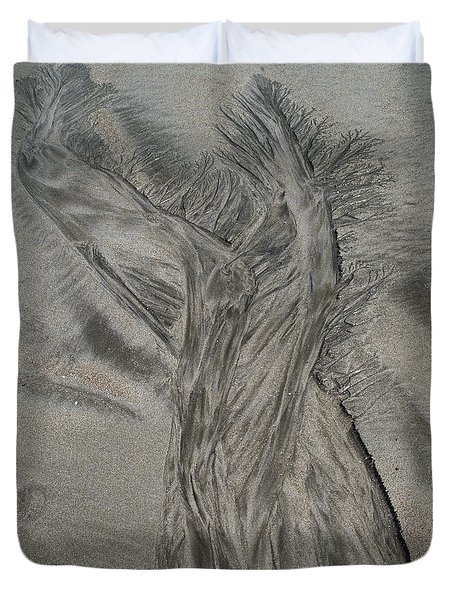 Sand Reels Duvet Cover