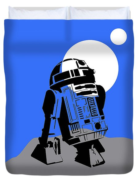Star Wars R2-d2 Collection Duvet Cover by Marvin Blaine