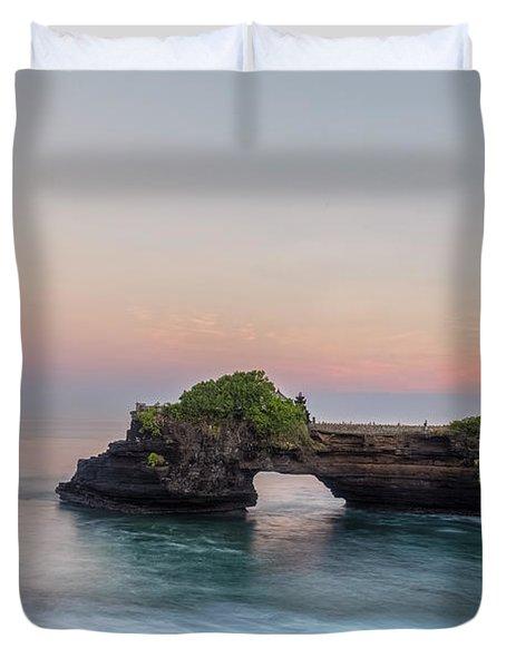 Tanah Lot - Bali Duvet Cover