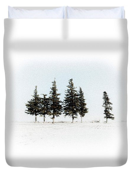 6 Trees Duvet Cover