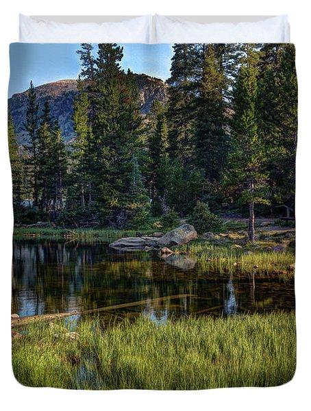 Uinta Mountains, Utah Duvet Cover