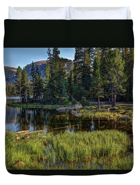 Uinta Mountains, Utah Duvet Cover