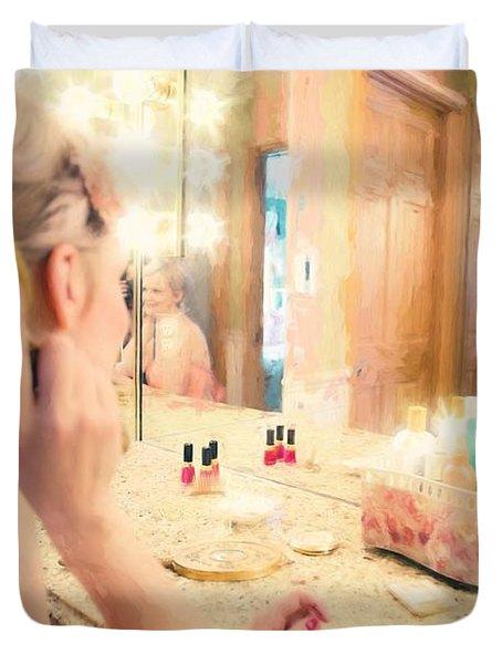 Vintage Val Bedroom Dreams Duvet Cover