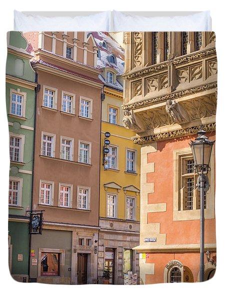 Wroclaw, Poland Duvet Cover