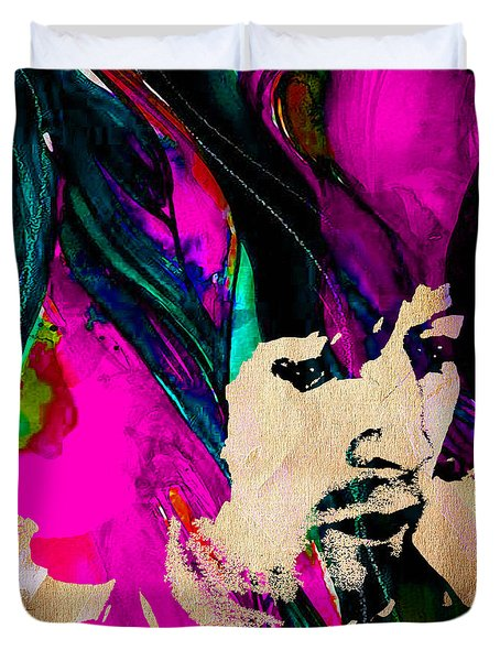 Eric Clapton Collection Duvet Cover