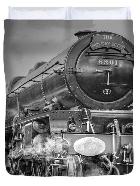 6201 Princess Elizabeth At Swanwick Duvet Cover