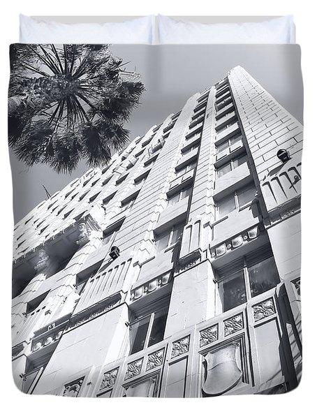 6253 Hollywood At Vine Duvet Cover
