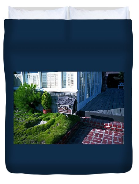 628 West Ocean Front Duvet Cover