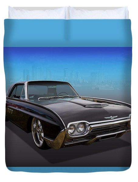 Duvet Cover featuring the photograph 63 Bird by Keith Hawley