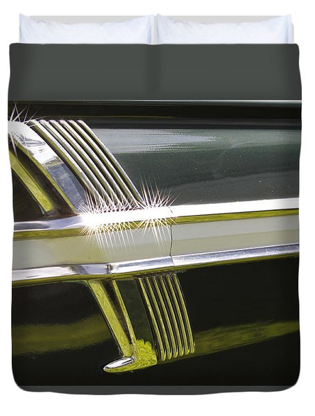 64 Ford Fairlane 500 Duvet Cover