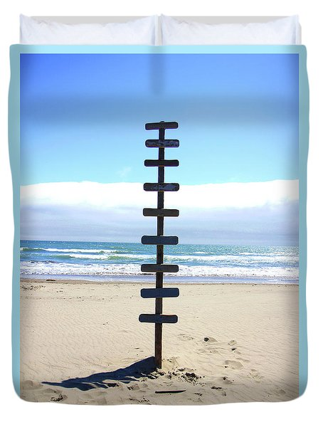 Untitled Duvet Cover by Chiara Corsaro