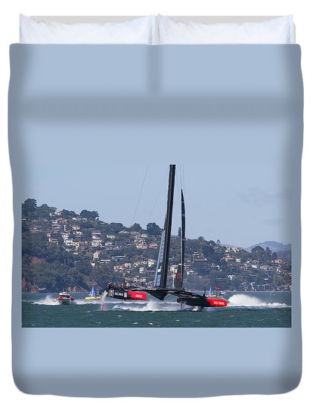 America's Cup 34 Duvet Cover
