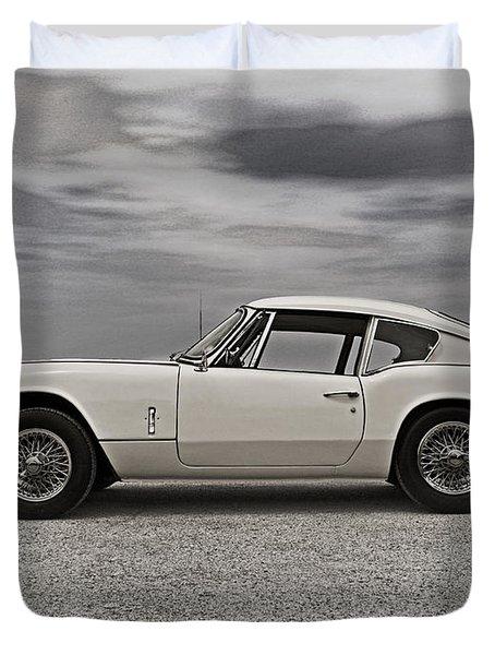 '67 Triumph Gt6 Duvet Cover by Douglas Pittman