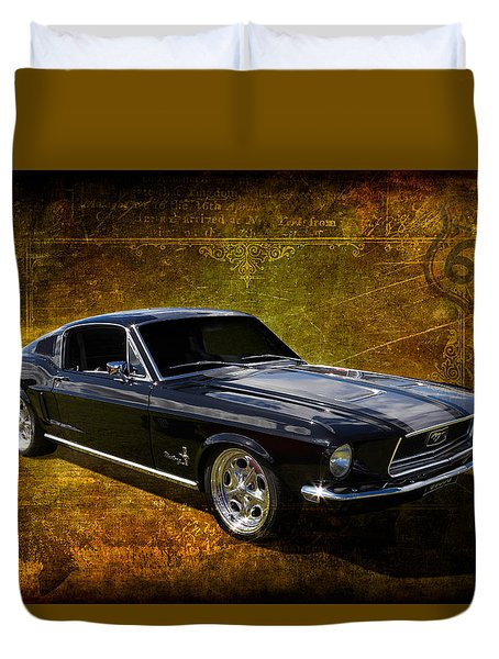 68 Fastback Duvet Cover