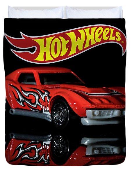 '69 Chevy Corvette-2 Duvet Cover