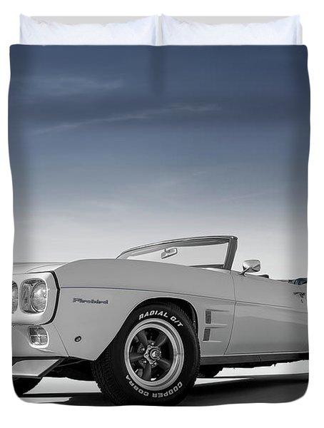 69 Firebird Convertible Duvet Cover