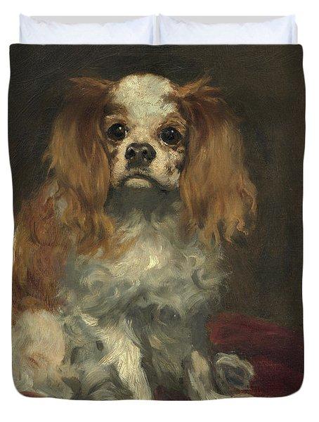 A King Charles Spaniel Duvet Cover