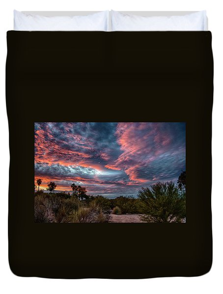 Arizona Sunset Duvet Cover
