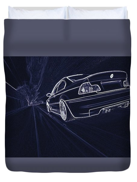 Bmw M3 E46  Duvet Cover