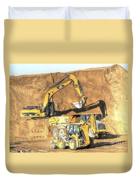 construction whsd Peterburg Duvet Cover