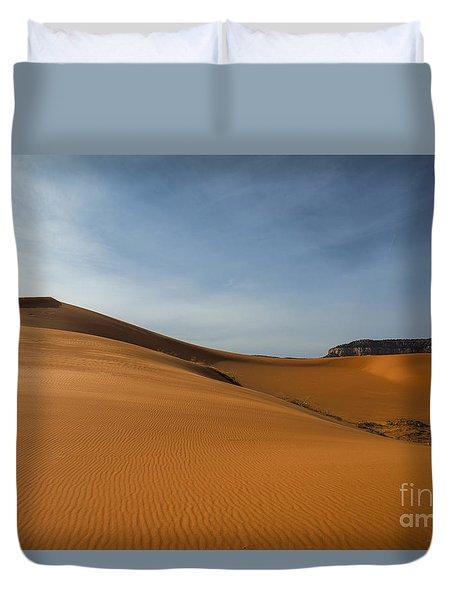 Coral Pink Sand Dunes Duvet Cover