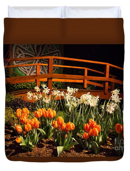 Imaginative Landscape Design Duvet Cover by Kevin McCarthy