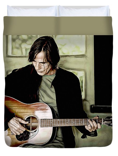 Jackson Browne Collection Duvet Cover