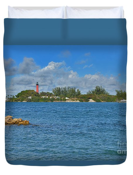 7- Jupiter Lighthouse Duvet Cover