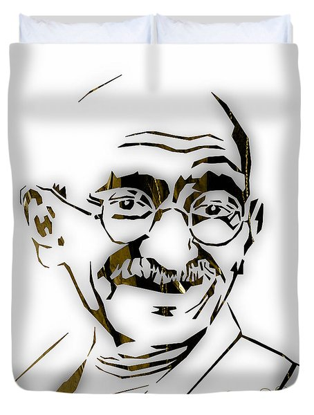 Mahatma Gandhi Collection Duvet Cover