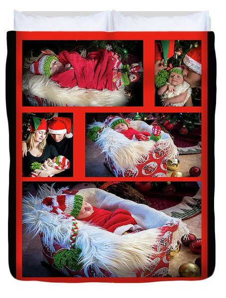 Merry Christmas Duvet Cover by Ivete Basso Photography