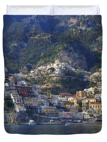 Positano - Amalfi Coast Duvet Cover