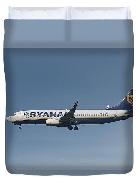 Ryanair Boeing 737-8as  Duvet Cover