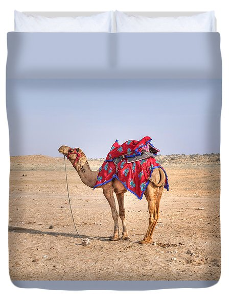 Thar Desert - India Duvet Cover
