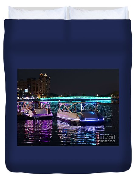 The 2016 Kaohsiung Lantern Festival Duvet Cover by Yali Shi