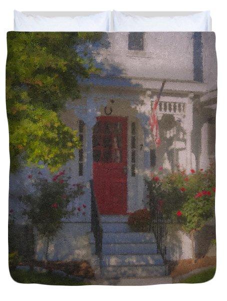 7 Williams Street Duvet Cover