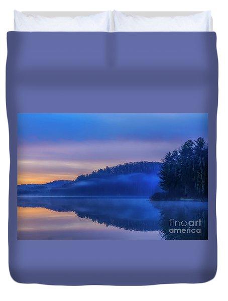 Winter Dawn Duvet Cover