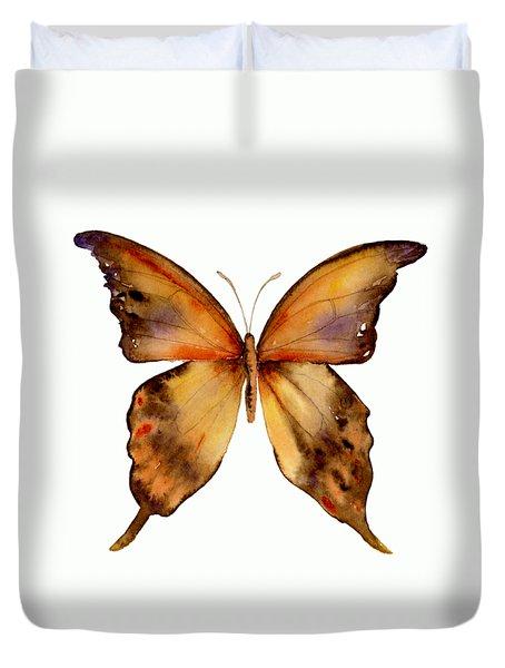 7 Yellow Gorgon Butterfly Duvet Cover