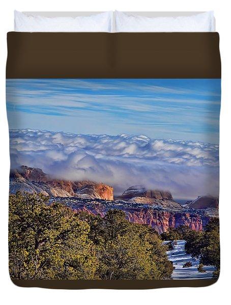 Capitol Reef National Park Duvet Cover