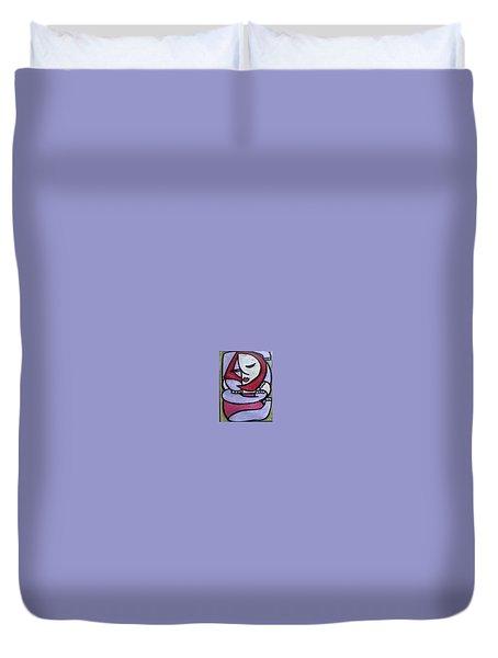 Hugs Duvet Cover by Thomas Valentine