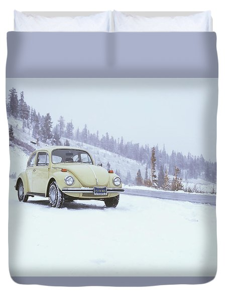 71 Vw Bug Duvet Cover