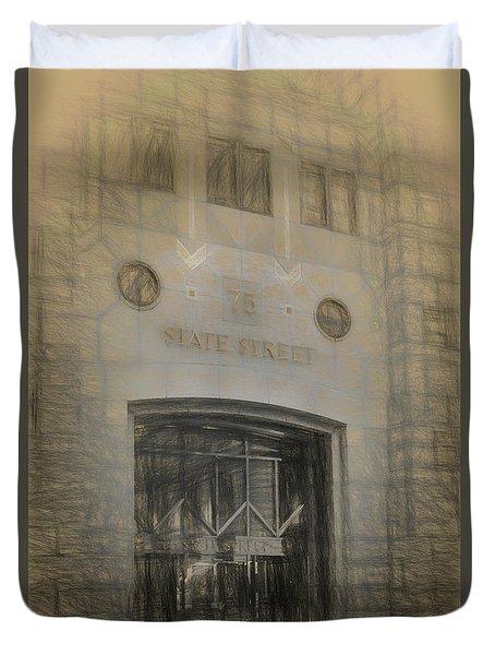 75 State Street Duvet Cover