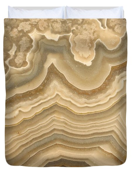 Agate Duvet Cover by Ted Kinsman