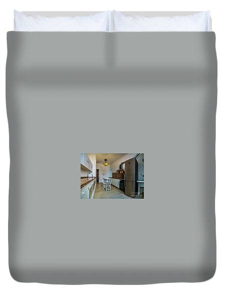 Duvet Cover featuring the photograph Apartment In The Heart Of Cadiz by Pablo Avanzini