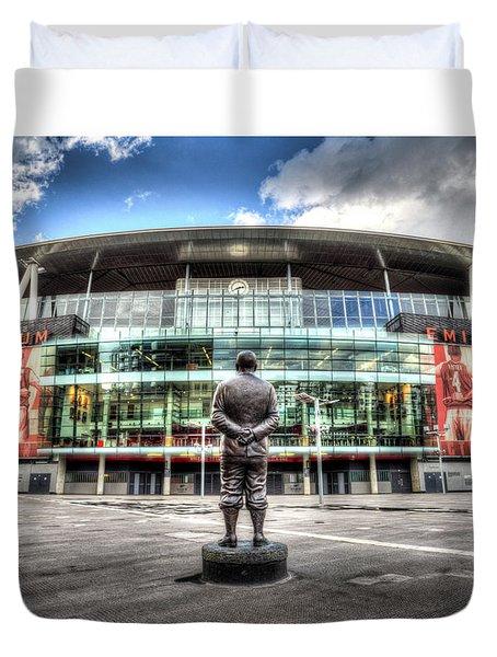 Arsenal Fc Emirates Stadium London Duvet Cover