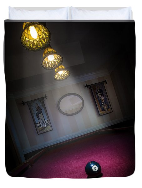 8 Ball Duvet Cover