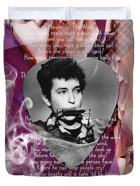 Bob Dylan Art Duvet Cover