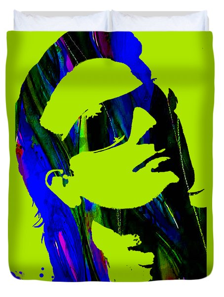 Bono Collection Duvet Cover by Marvin Blaine