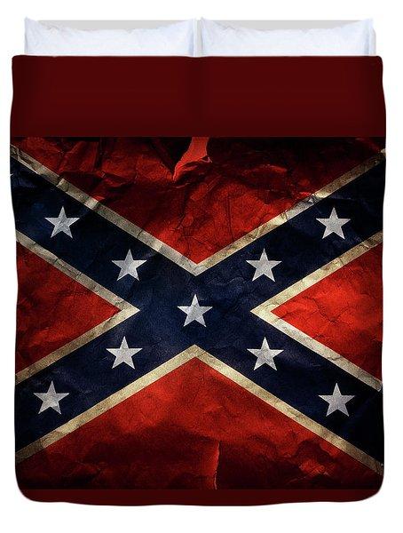 Confederate Flag 9 Duvet Cover