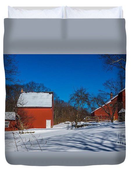 Weir Farm National Historic Site. Duvet Cover