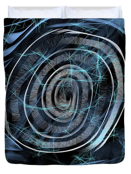 Digital Abstract  Duvet Cover